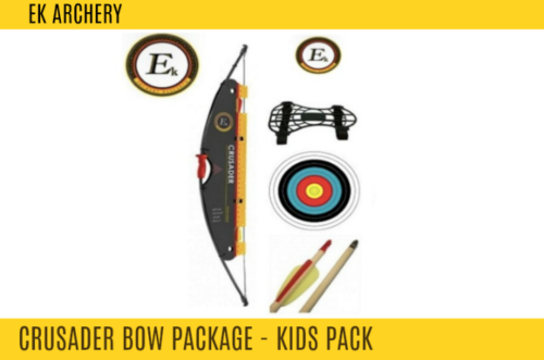 EK CRUSADER BOW 10LB YOUTH PACKAGE -  - Mansfield Hunting & Fishing - Products to prepare for Corona Virus