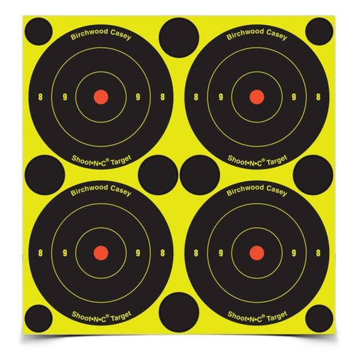 BIRCHWOOD CASEY SHOOT N C 48 SELF ADHESIVE TARGETS -  - Mansfield Hunting & Fishing - Products to prepare for Corona Virus