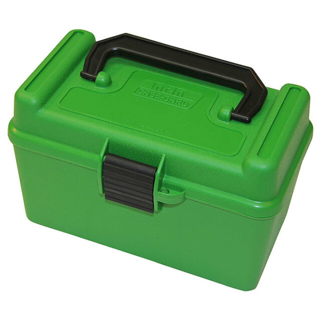 MTM DELUXE 50 ROUND AMMO BOX 300REM XL FLIP TOP -  - Mansfield Hunting & Fishing - Products to prepare for Corona Virus