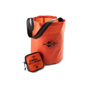 FOLDING BUCKET 20L -  - Mansfield Hunting & Fishing - Products to prepare for Corona Virus