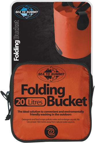 Sea To Summit Folding Bucket - 10L or 20L