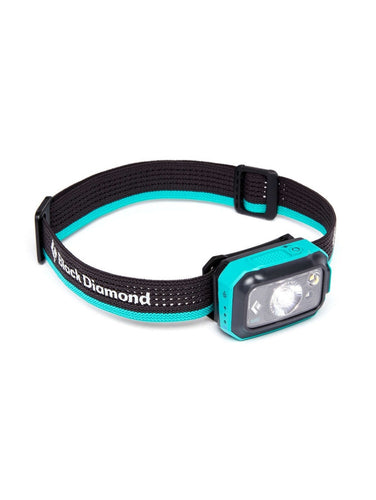 BLACK DIAMOND REVOLT 350LUMENS HEAD TORCH - AQUA BLUE -  - Mansfield Hunting & Fishing - Products to prepare for Corona Virus