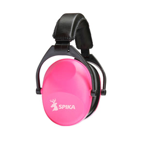Spika Womens Pink Earmuffs - Perfect For Clay Target Shooting