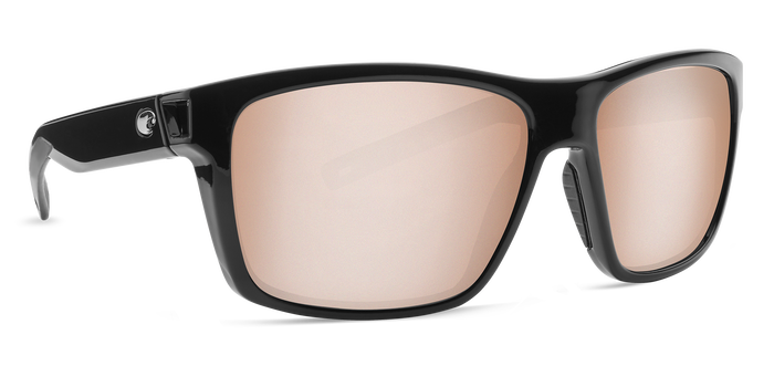COSTA SLACK TIDE SHINY BLACK SILVER MIRROR 580G SUNGLASSES -  - Mansfield Hunting & Fishing - Products to prepare for Corona Virus