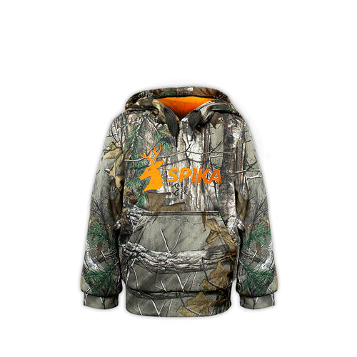 SPIKA Boys Hoodie Camo - G-101 -  - Mansfield Hunting & Fishing - Products to prepare for Corona Virus