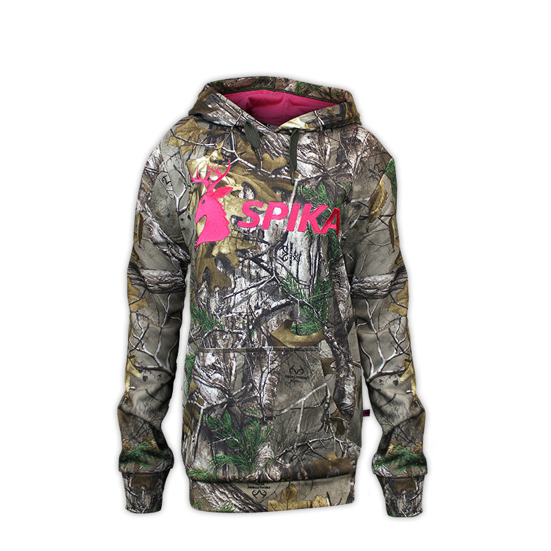 SPIKA Go Women's Hoodie - CAMO - GHCW -  - Mansfield Hunting & Fishing - Products to prepare for Corona Virus