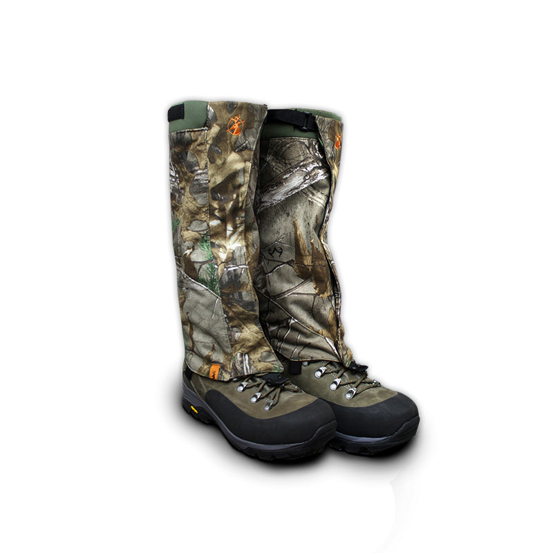 SPIKA Hunting Gaiters - Camo - L-XL - Mansfield Hunting & Fishing - Products to prepare for Corona Virus