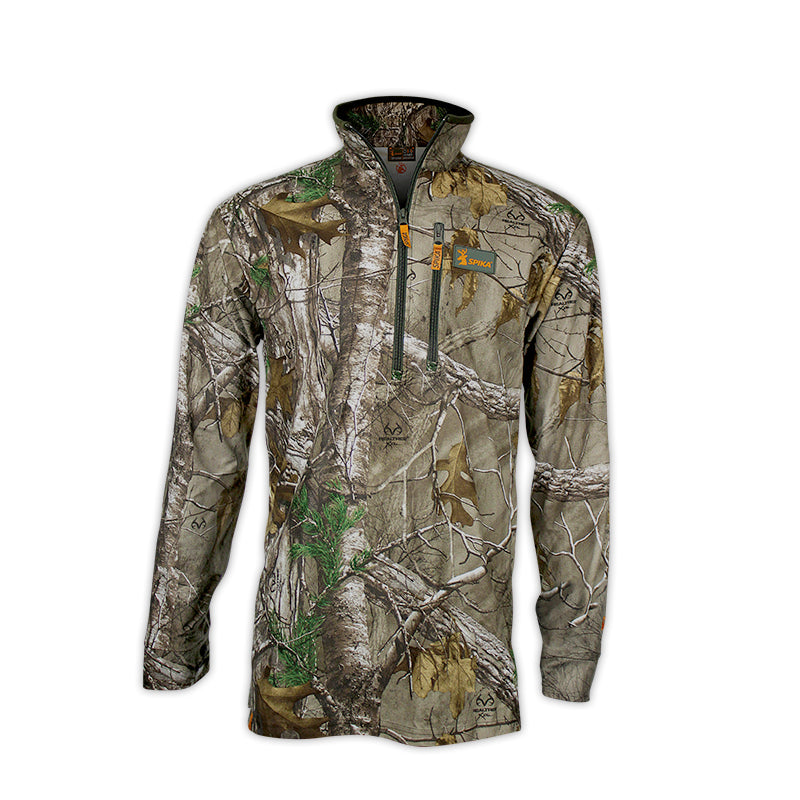 SPIKA Tracker Shirt Camo Long Sleeve - H-105 - Hunting Apparel - Mansfield Hunting & Fishing