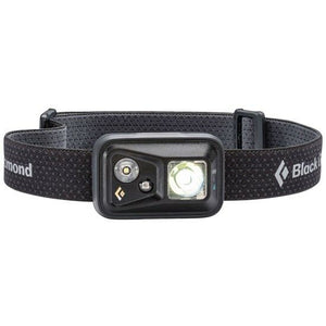 BLACK DIAMOND SPOT 300 LUMENS HEAD TORCH - BLACK -  - Mansfield Hunting & Fishing - Products to prepare for Corona Virus