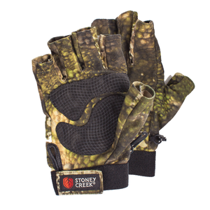 STONEY CREEK FINGERLESS GLOVES TCF - S / CAMO - Mansfield Hunting & Fishing - Products to prepare for Corona Virus