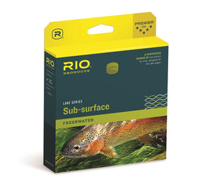 RIO SUB SURFACE FLY LINE AQUALUX WF51 -  - Mansfield Hunting & Fishing - Products to prepare for Corona Virus