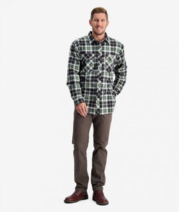 SWANNDRI FULL BUTTON EGMONT FLANNLETTE SHIRT - TWIN PACK -  - Mansfield Hunting & Fishing - Products to prepare for Corona Virus