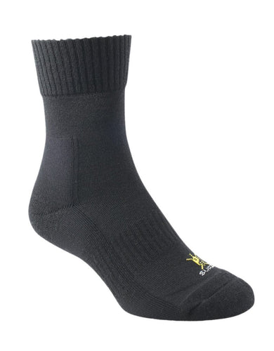 SWAZI ADVENTURE SOCKS - S / BLACK - Mansfield Hunting & Fishing - Products to prepare for Corona Virus