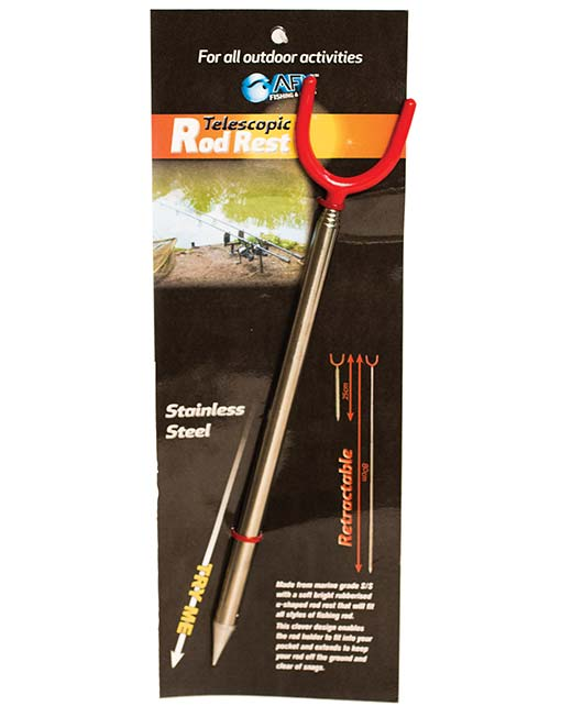 TELESCOPIC ROD REST -  - Mansfield Hunting & Fishing - Products to prepare for Corona Virus