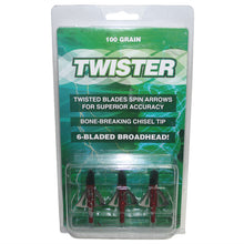 TWISTER 6 BLADE BROADHEAD - PKT 3 -  - Mansfield Hunting & Fishing - Products to prepare for Corona Virus
