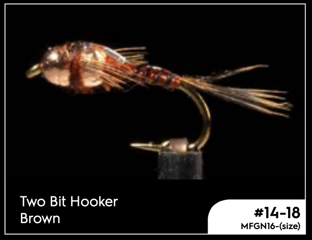 MANIC TWO BIT HOOKER -BROWN -  - Mansfield Hunting & Fishing - Products to prepare for Corona Virus