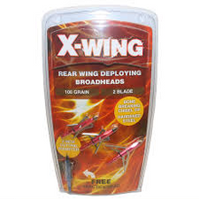 X-WING REAR WING DEPLAYING BROADHEADS -  - Mansfield Hunting & Fishing - Products to prepare for Corona Virus