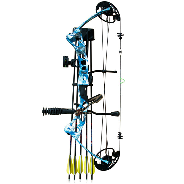 VULTURE BOW PACKAGE - BLUE CAMO -  - Mansfield Hunting & Fishing - Products to prepare for Corona Virus