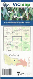VIC MAP - WHITFIELD - 8124S -  - Mansfield Hunting & Fishing - Products to prepare for Corona Virus