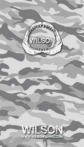 WILSON UV HEAD SCARF - GREY CAMO -  - Mansfield Hunting & Fishing - Products to prepare for Corona Virus