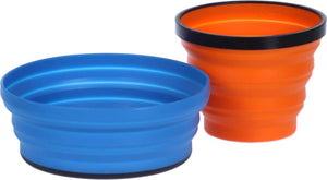 Sea To Summit X Set 2 - Compact Bowl & Mug -  - Mansfield Hunting & Fishing - Products to prepare for Corona Virus