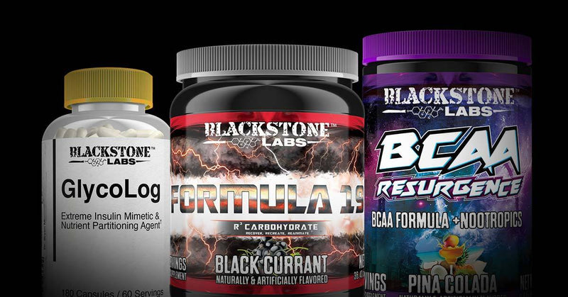 WHEN TO TAKE GLYCOLOG, BCAA RESURGENCE, AND FORMULA 19