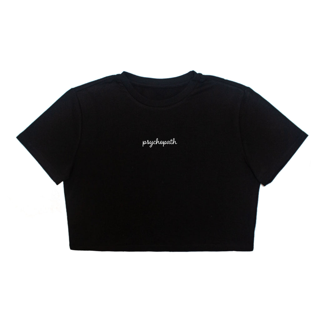 Psychopath Crop Top
