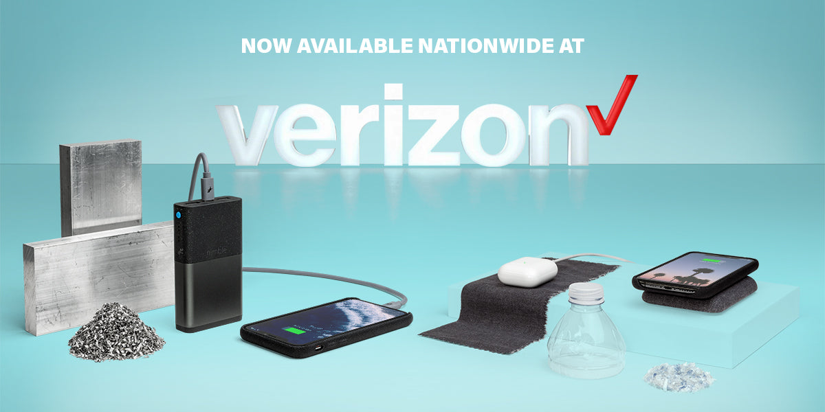 Nimble is now available at Verizon