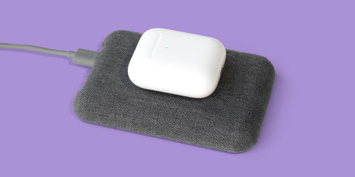 Nimble Wireless Pad charges AirPods