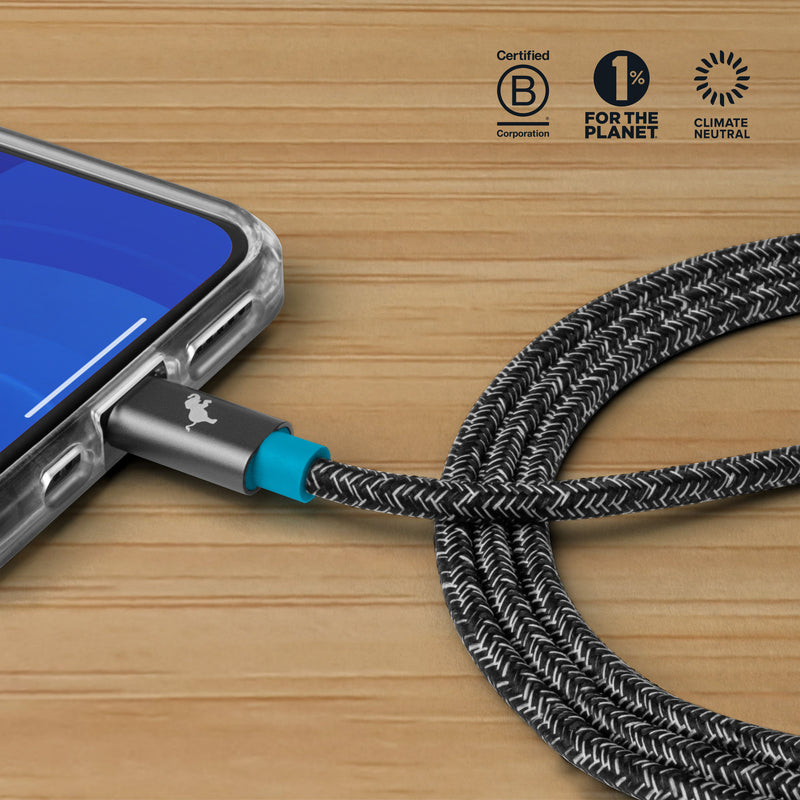 PowerKnit USB-C to Lightning Cable