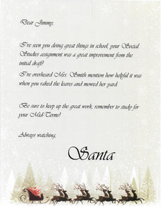 Wax sealed letter from north pole alaska santa reindeer theme wax sealed letter from north pole alaska santa reindeer theme spiritdancerdesigns Image collections