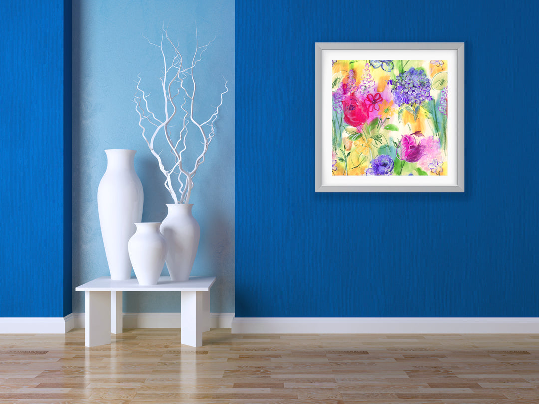 floral wall art ARABELLA ART PRINT