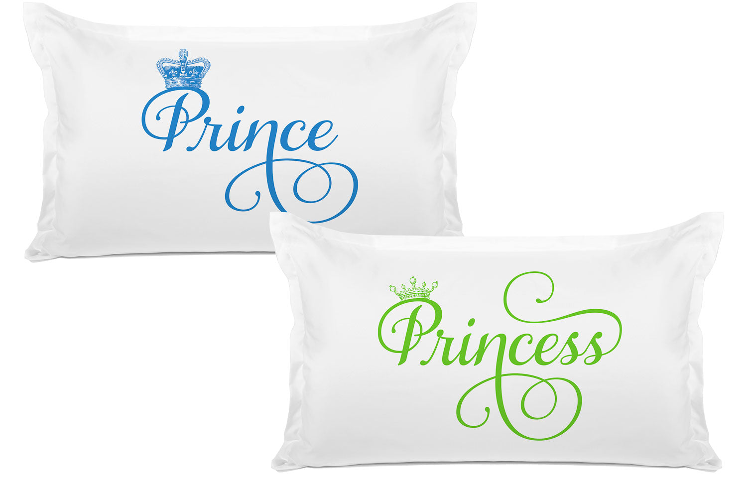 Prince, Princess - His & Hers Pillowcase Collection-Di Lewis