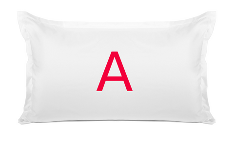 Bold (Monogram) - Personalized Kids Pillowcase Collection-Di Lewis