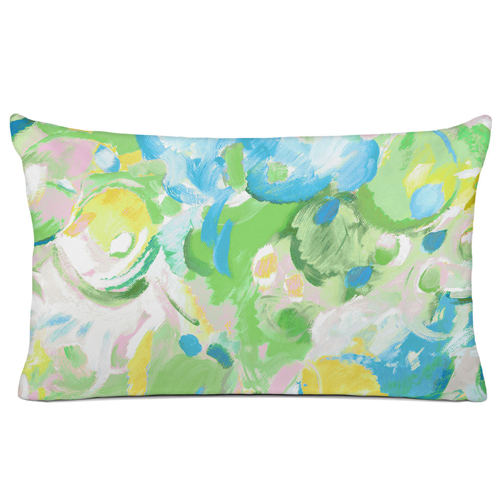 ABSTRACT PILLOW SHAM - BEDDING - IMAGINATION LEAF - GEOMETRIC DESIGN