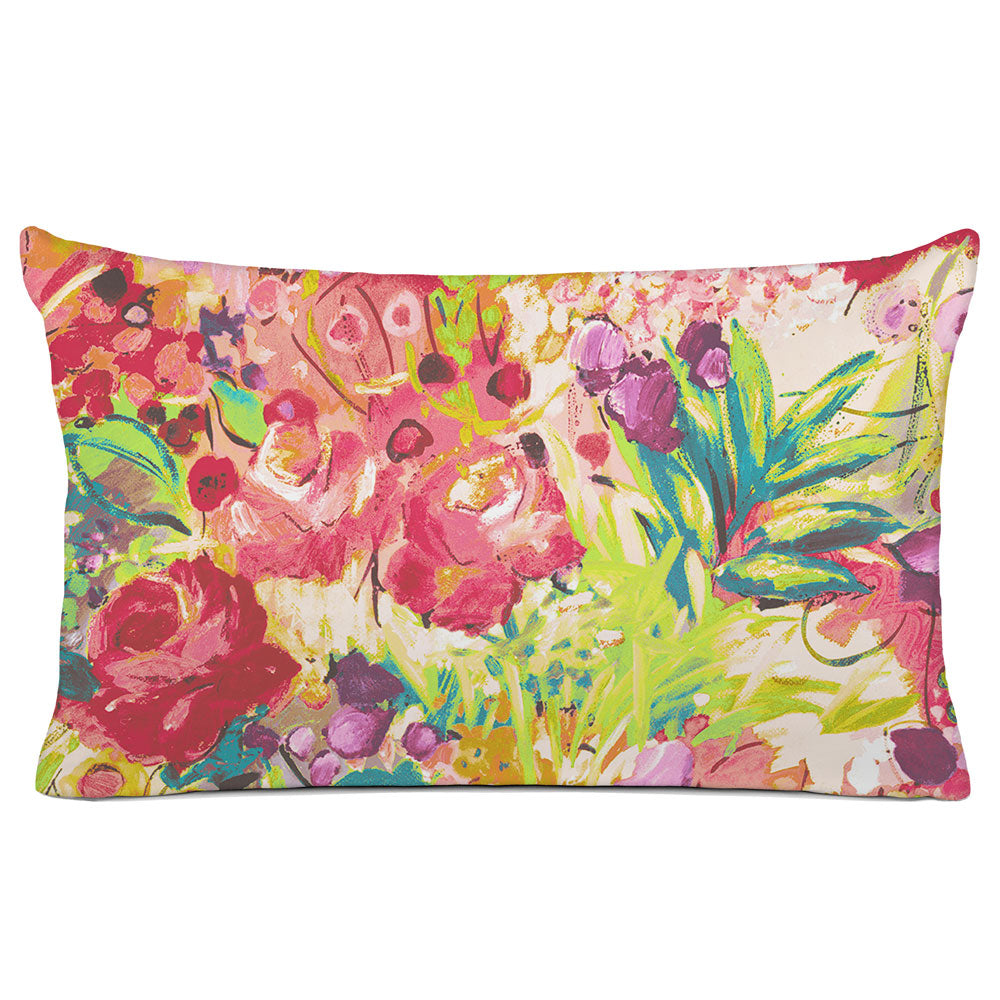 FLORAL PILLOW SHAM - BEDDING - DUFY TROPICAL - FLORAL DESIGN