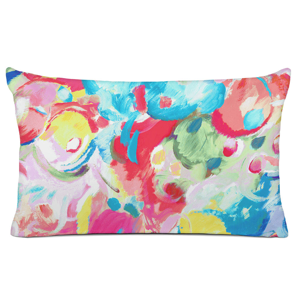 ABSTRACT PILLOW SHAM - BEDDING - IMAGINATION PAINTBOX - GEOMETRIC DESIGN