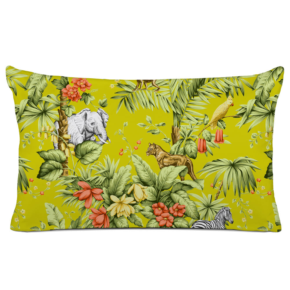 DECORATIVE PILLOW SHAM - BEDDING - ZAMBIA JONQUIL - ANIMAL DESIGN
