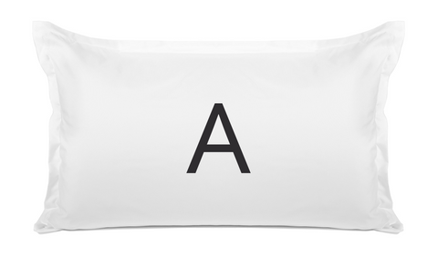 Simple (Monogram) - Personalized Kids Pillowcase Collection-Di Lewis