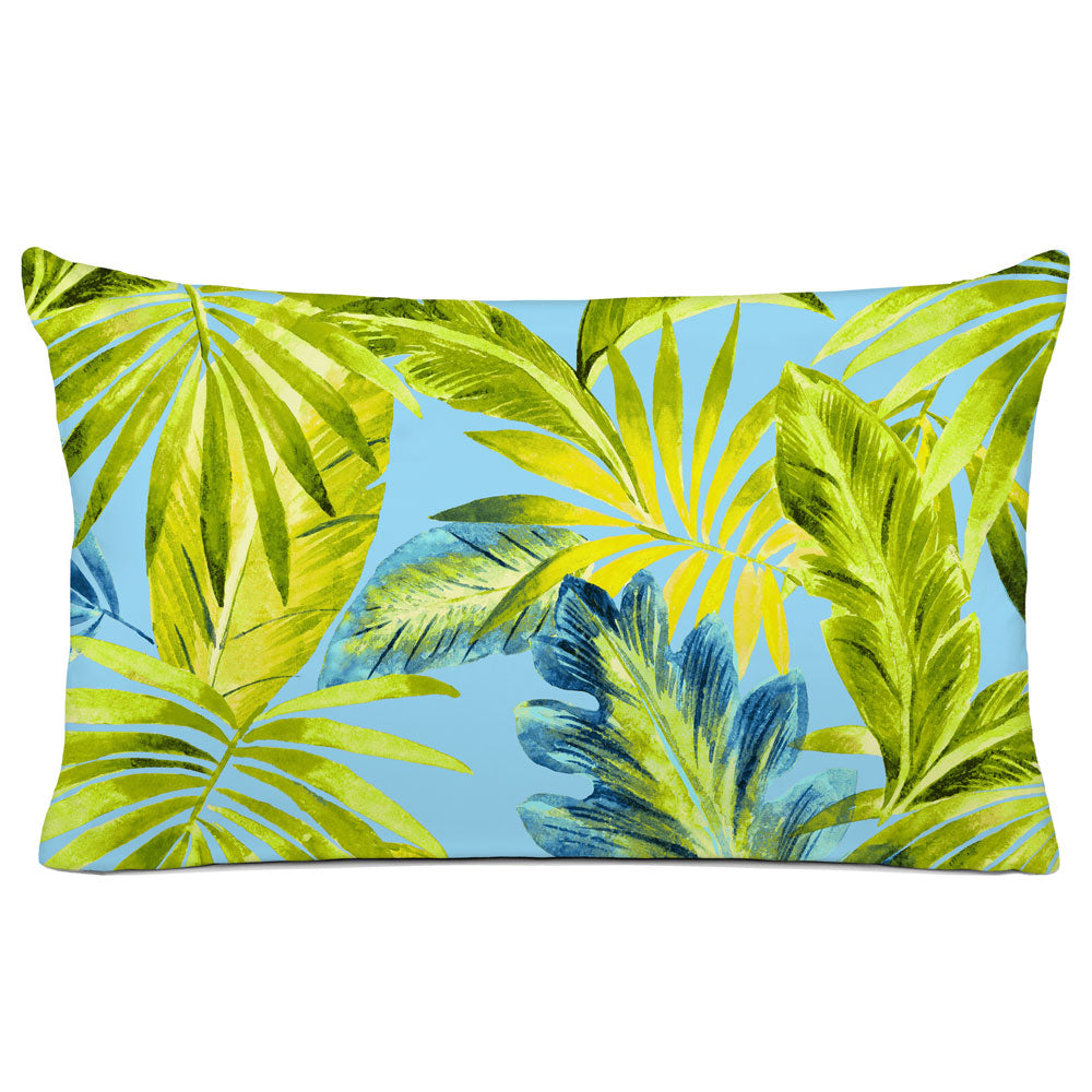 TROPICAL PILLOW SHAM - BEDDING - BAHAMA OCEAN - TROPICAL DESIGN