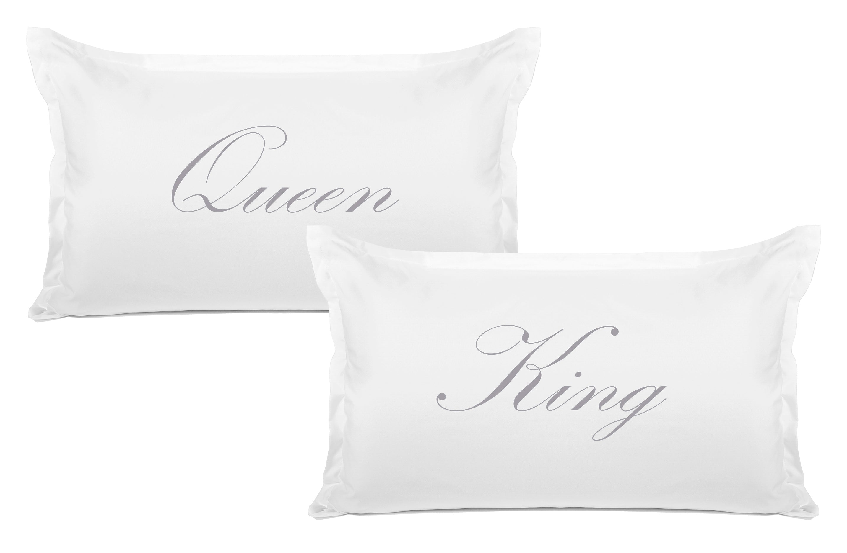 King, Queen Expression Pillowcase Pair Di Lewis
