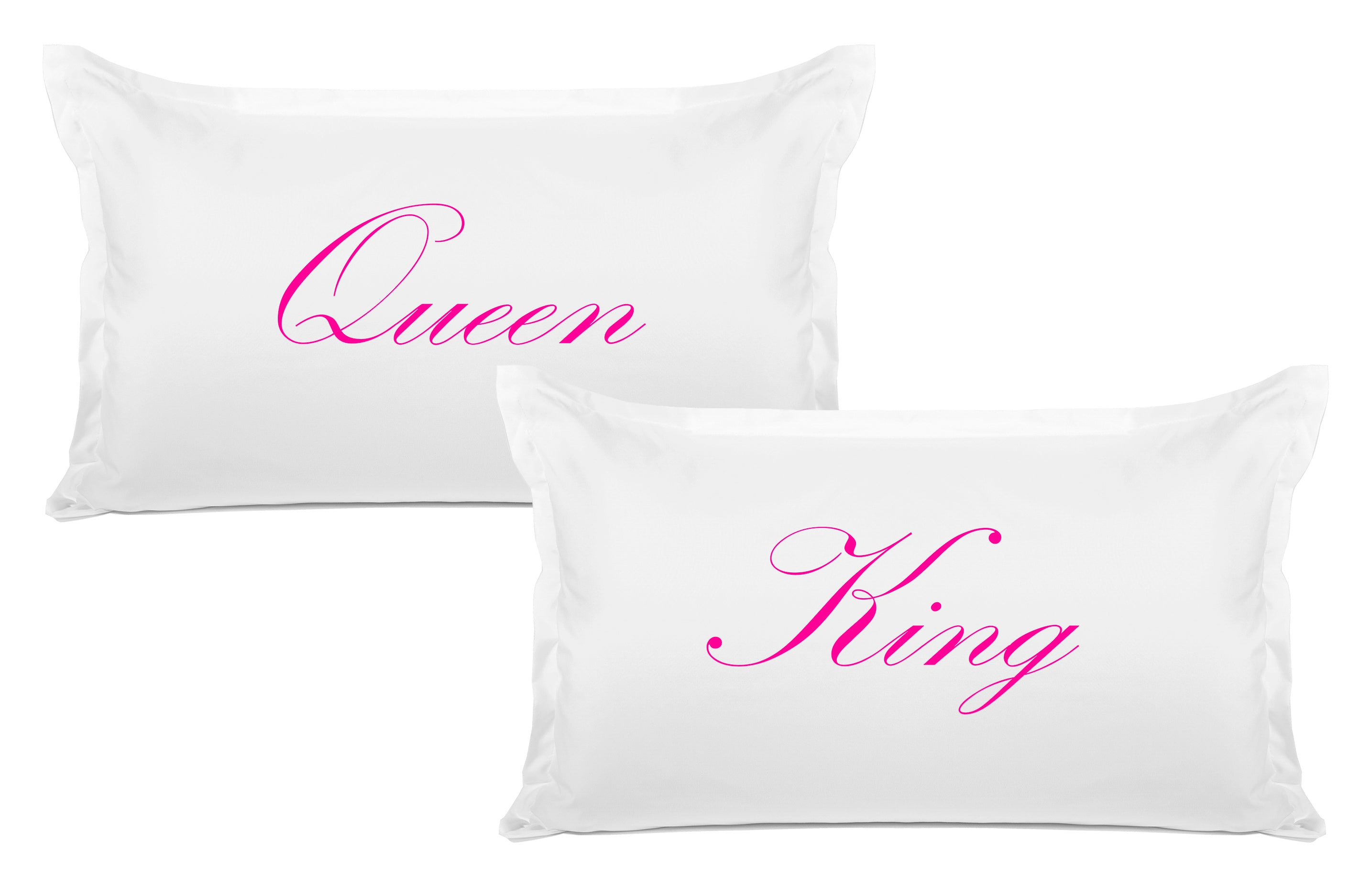 King, Queen pillow sets Di Lewis bedroom decor