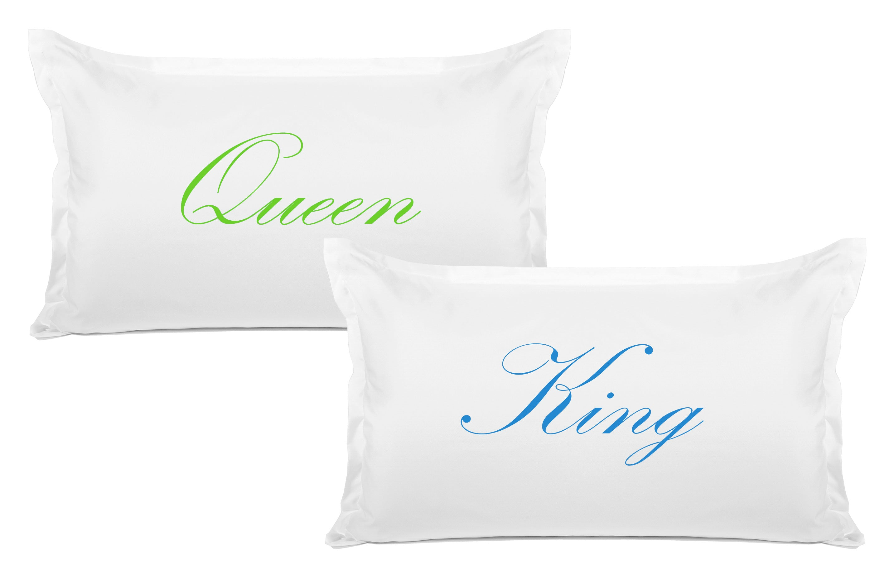 King, Queen - His & Hers Pillowcase Collection