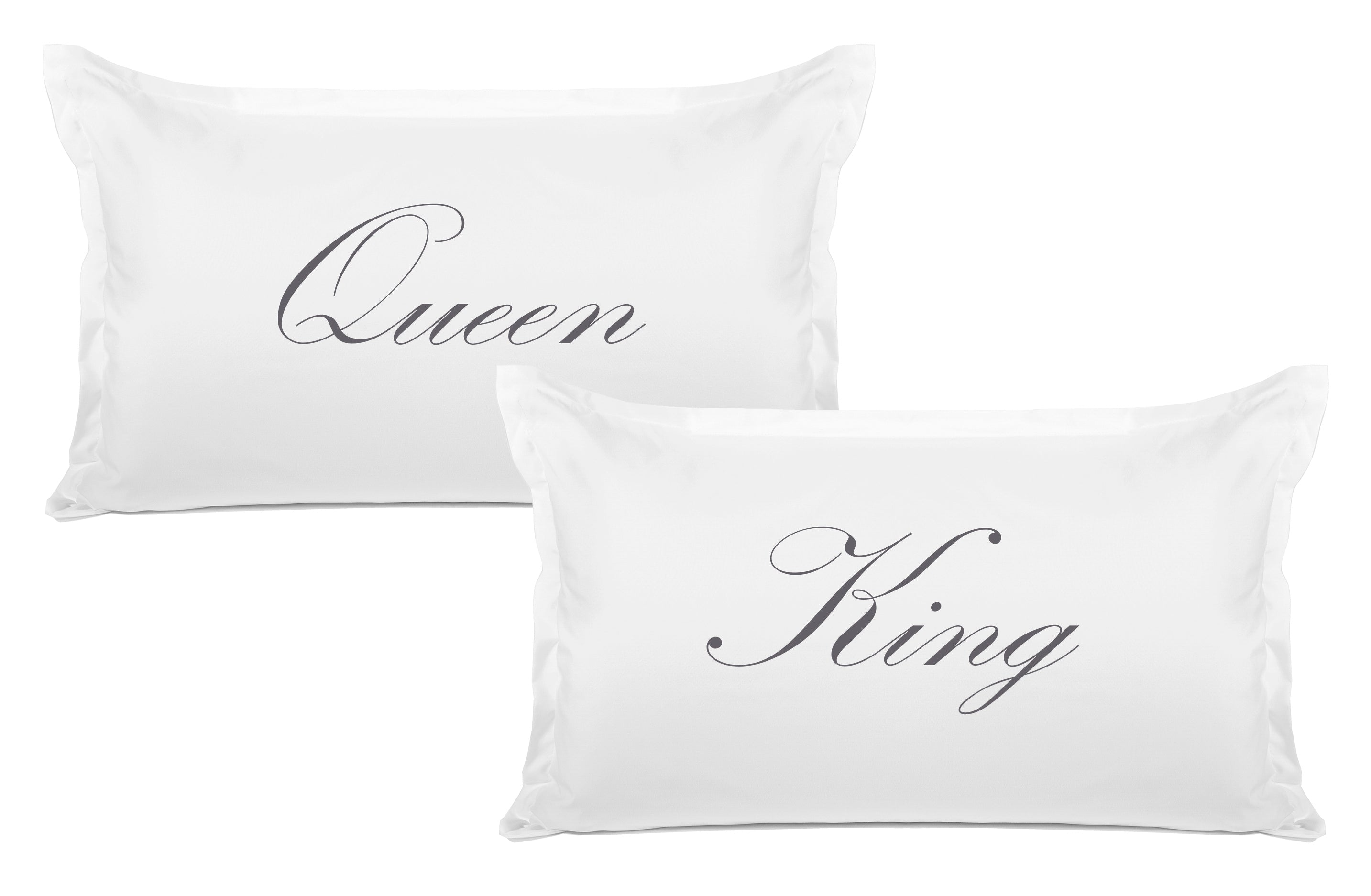 King, Queen pillow set Di Lewis bedroom decor
