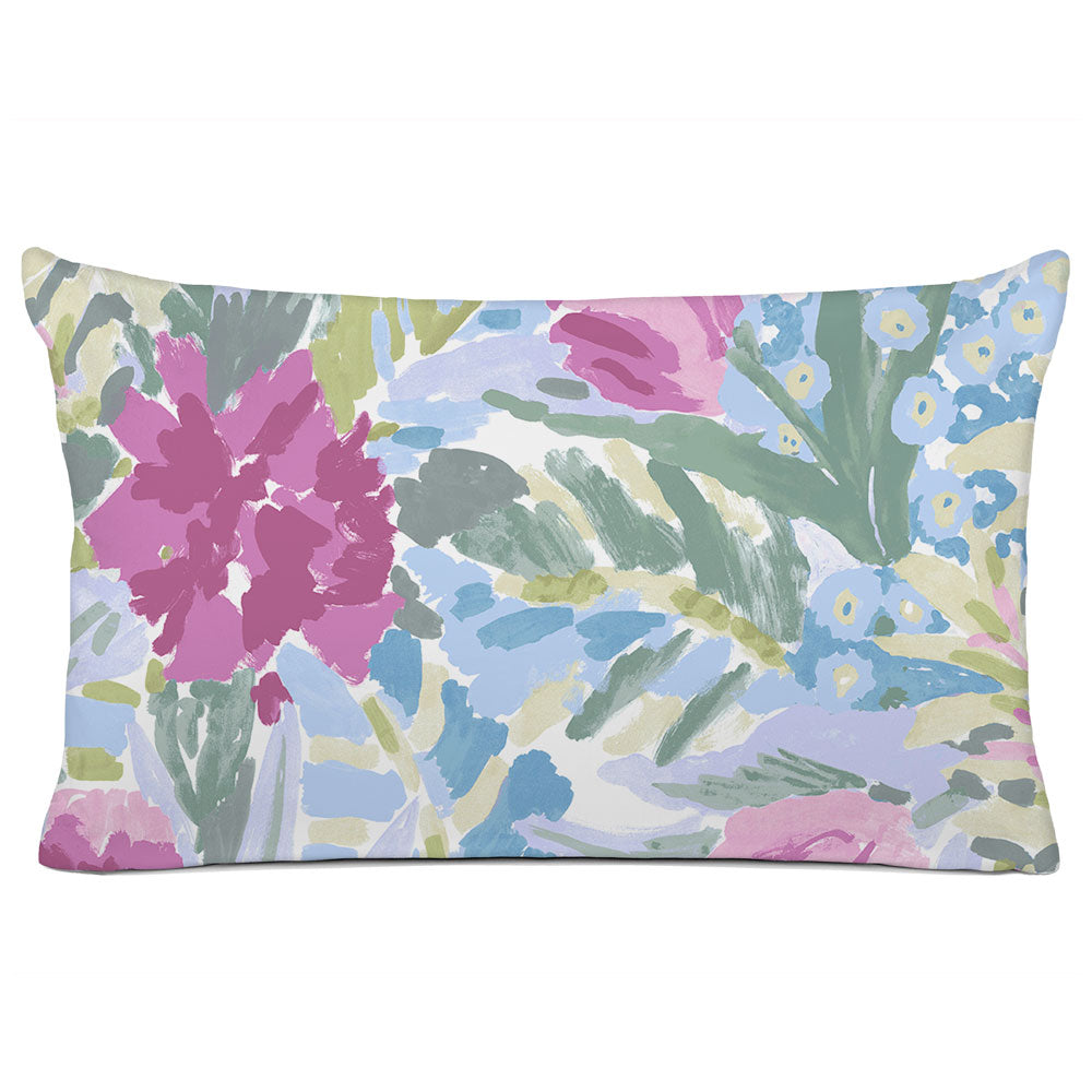 FLORAL PILLOW SHAM - BEDDING - SHANGRI-LA ROSE - FLORAL DESIGN