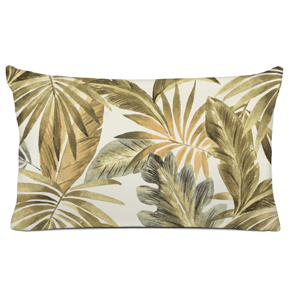 TROPICAL PILLOW SHAM - BEDDING - BAHAMA NATURAL - TROPICAL DESIGN