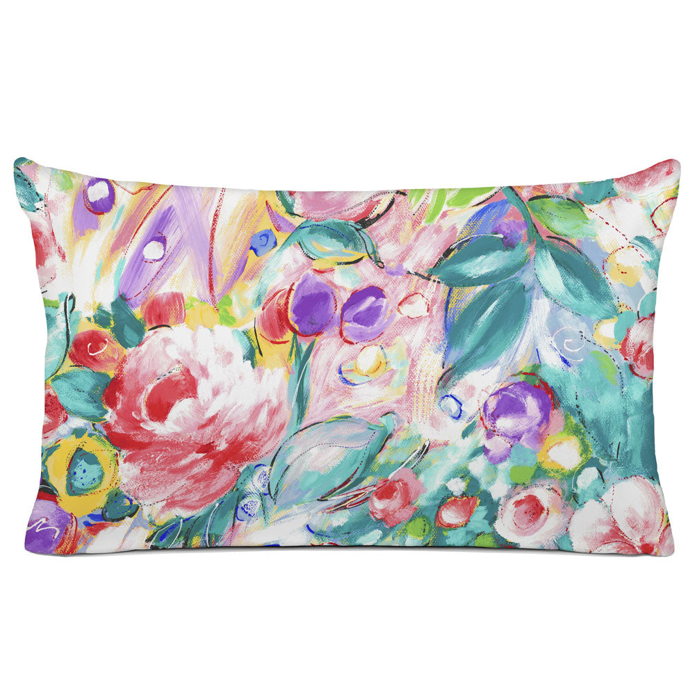 FLORAL PILLOW SHAM - BEDDING - ORONA MULTI COLOR - FLORAL DESIGN