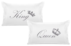 King Crown, Queen Crown Expressions pillow sets Di Lewis bedroom decor