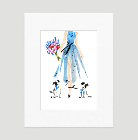 Absolutely Fabulous Art Print - Fashion Illustration Wall Art Collection-Di Lewis