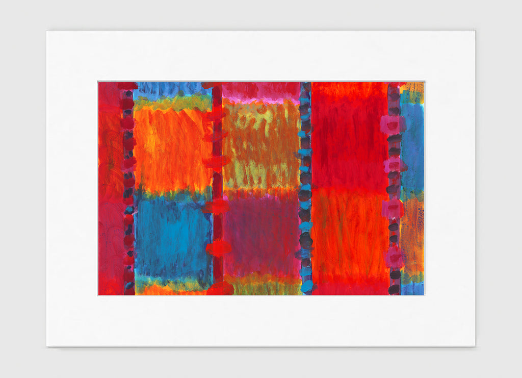 Aerial Art Print - Abstract Art Wall Decor Collection-Di Lewis